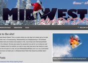 Midwest Boardriders Blog Design