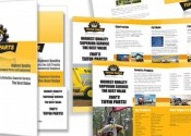 Tiffin Parts Marketing Collateral